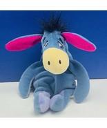 Eeyore plush stuffed animal Walt Disney Store Winnie Pooh bean bag disne... - $12.55