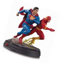 DC Collectibles DC Gallery: Superman Vs. the Flash Racing Resin Statue - $280.53