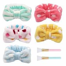 Jaciya Spa Headband Hair Wrap Sweat Headband Head Wrap Hair Towel Wrap N... - $11.63