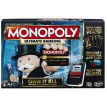 Monopoly Ultimate Banking Board Game - $26.59