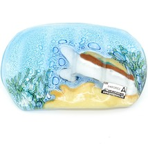 Fused Art Glass Sea Turtle Marine Ocean Design Soap Dish Handmade in Ecuador image 2
