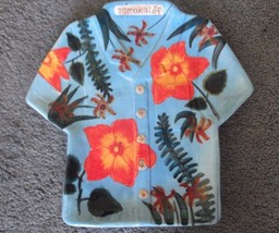 Jamaica Joe - Blue Hawaiian Shirt Plate by Cape Craftsmen - $14.24