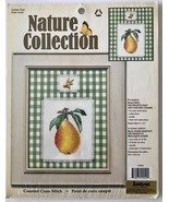 Janlynn Golden Pear Counted Cross Stitch Kit 115550 + Golden Bee Charm 2... - $13.54