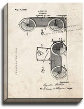 Automobile Patent Print Old Look on Canvas - $39.95+