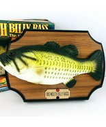 Vintage 1998 Big Mouth Billy Bass Singing Fish Gemmy 36134 Motion Activated - $79.19