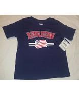 New England Revolution Blue T Shirt MLS Soccer Toddler Sized - $4.00