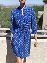 Diane Von Furstenberg Drawstring Silk Shirt Dress US4&6 - $99.00