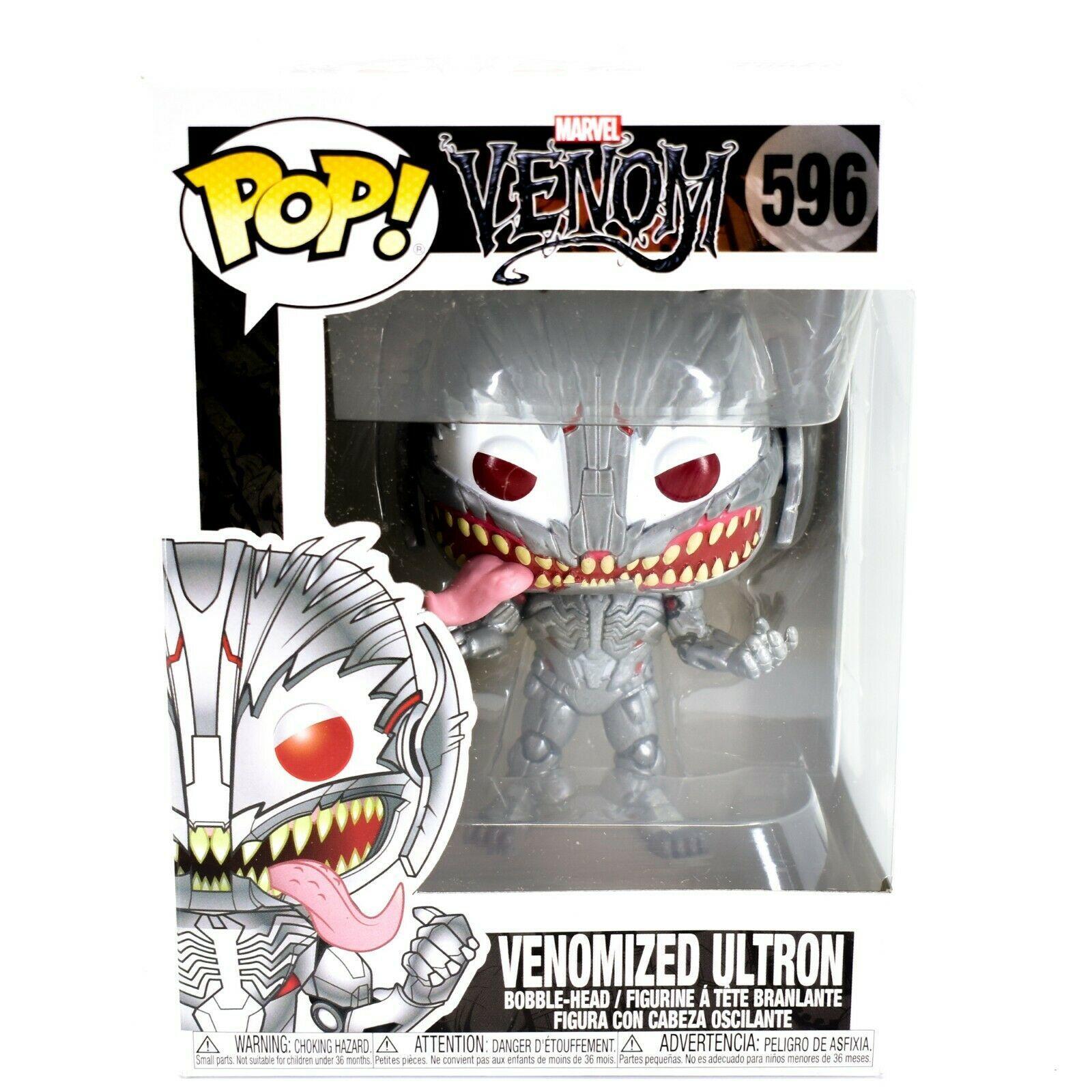 Funko Pop! Marvel Venom Venomized Ultron #596 Bobble-Head Vinyl Action Figure