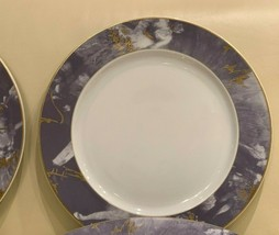 "Rosenthal Germany Epoque Lavender and Gold Rim Porcelain 12 1/4"" Charger... - $79.00"