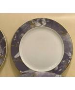 "Rosenthal Germany Epoque Lavender and Gold Rim Porcelain 12 1/4"" Charger... - $79.00"