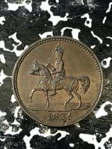 1835 Great Britain Nettleford Grocer & Ironmonger Farthing Token Lot#JM1... - $32.73