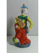 COLLECTIBLE LAREAUX HAND PAINTED KNICKKNACK MIME W BEACH BALL (1989) 331... - $9.75