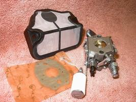 Replacement Carburetor for Husqvarna 36 41 136 137 141 142 plus Air and ... - $13.73