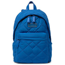MARC JACOBS QUILTED NYLON BACKPACK BAG Marine Blue  - $117.81