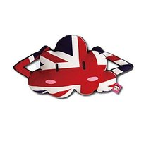 PANDA SUPERSTORE Cute Cartoon Cloud Series[The Union Jack] Car Headrest/Car Neck