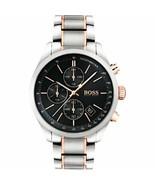 Hugo Boss 1513473 Grand Prix Chronograph Black Dial Quartz Men's Watch - $163.25