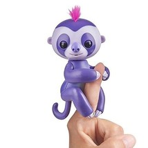 Fingerlings Baby Sloth - Marge (Purple) - Interactive Baby Pet - by WowWee - $28.99