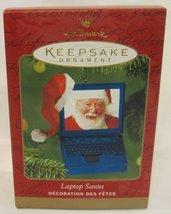 Hallmark Ornament Laptop Santa - 2001 - $9.58
