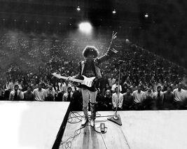 Jimi Hendrix TKK Vintage 16X20 BW Music Memorabilia Photo - $29.95