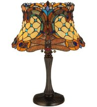"Meyda Tiffany 130762 Hanginghead Dragonfly Table Lamp, 22.5"" Height - $230.40"