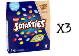 Nestle Smarties Candy covered chocolates Canadian Canada FRESH 1kg 2.2lb... - $29.39