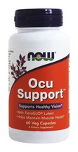 NOW Foods Ocu Support - 60 Capsules - $13.92