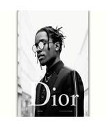 57859 2 ASAP ROCKY Rap Hip Hop Music Star Dior Fashion Wall Print Poster  - $5.95+