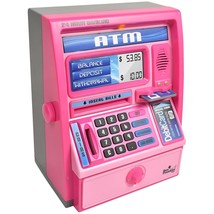 Talking ATM Machine Bank for Kids with Electronics Ben Franklin Toys New... - $44.69