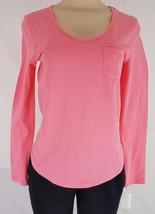 Charter Club Intimates Women's Separates V-neck Sleepshirt Top Strawberry Pink - $14.99