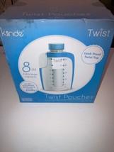 Kiinde Breast Milk Storage Twist Pouch, Extra Large (8 oz - Pack of 40) NIB - $13.37