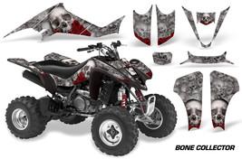 ATV Decal Graphic Kit Wrap For Suzuki LTZ400 Kawasaki KFX400 2003-2008 BONES SLV - $169.95