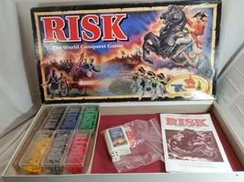 RISK The World Conquest Game 1993 Parker Brothers COMPLETE - $17.82