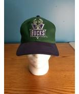 Vintage Milwaukee Bucks Sports Specialties Plain Logo Snapback Hat Cap NBA - $74.20