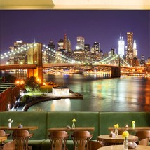"3D Wallpaper "" New York City"" - $35.00+"