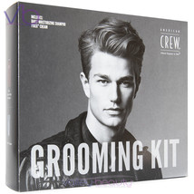 American Crew Grooming Kit, Fiber Cream, Shampoo, Perfect Father's Day Gift Set - $19.00