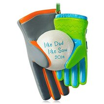 Hallmark Keepsake Ornament Like Dad, Like Son 2014 - $0.98