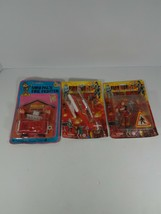 Vintage Fire Fighter Children's Toys Still In Package Fire Heros Mini Pal - $29.69