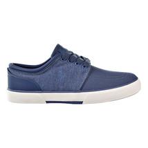 Polo Ralph Lauren Faxon Low Sk-Vlc Mens Blue-White Sneakers 816688820-004 - $59.95