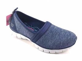 Skechers 23436 Navy  Air Cooled Memory Foam Slip On Sneakers - $59.00