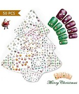 NiceDeco 50 Sheets (More Than 1500Pcs) Christmas And New Year Theme 3D ... - $20.37