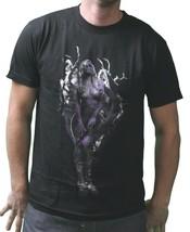 T.I.T.S. Mens Black Purple Natures Finest Sexy Woman Wifey Dark Tree T-Shirt NWT image 1