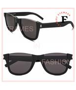 SAINT LAURENT CUT AWAY 51 YSL SL51 Black Topless Sunglasses Unisex 001 C... - $336.60