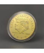 President Donald Trump Gold Plated EAGLE 2020 Commemorative Coin - $5.95