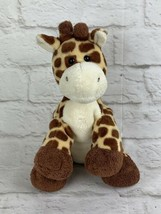 "Ty Pluffies Tip Top Giraffe Plush Stuffed Animal Tylux Plastic Eyes 9"" T... - $12.16"