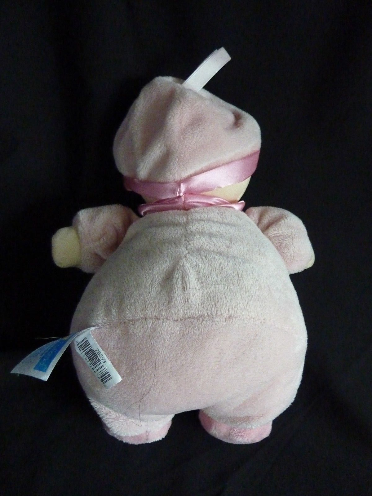 """Kids Preferred Pink Tulip Flower Plush Doll Bunny Slippers 12"""" Soft Toy Stuffed image 6"""