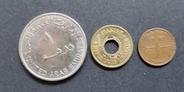 3 Coins from United Arab Emirates, Pakistan, Lebanon - $2.95