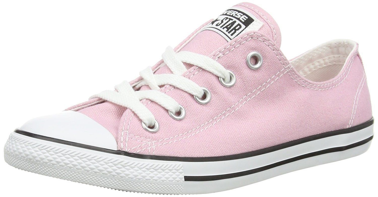 Women Converse Chuck Taylor Dainty Ox Low Top Sneaker, 549615C Size 5 Pink