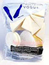 Lot of 2 Victoria Vogue Beauty Cosmetic Sponges, Assorted - $8.90