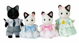 "Epoch Sylvanian Families Sylvanian Family Doll ""FS-05 Family of charcoal cat"" - $35.07"