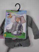 NEW Rubies Gray Elephant  Infant Costume Noah's Ark Baby Halloween 0-6 M... - £10.72 GBP